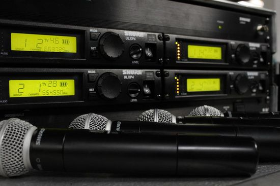 Shure ULX Wireless Microphones available for rent from TSV