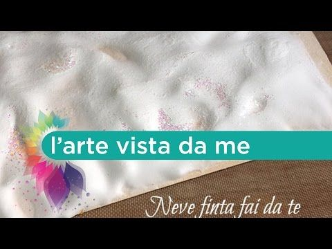 Decorazioni Natalizie Youtube.Neve Finta Fai Da Te Artificial Snow Effetto Neve Decorazioni