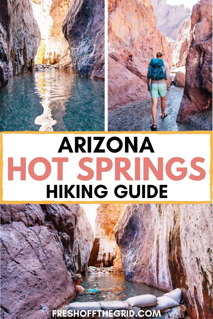A Guide to the Arizona Hot Springs