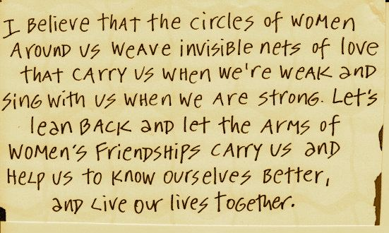Women friendship by quotes about 25 Literary