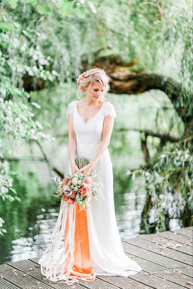 Hochzeitsideen in Koralle (mit Bildern) | Hochzeit ...