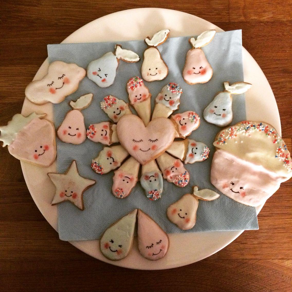 Kawaii cookies home made