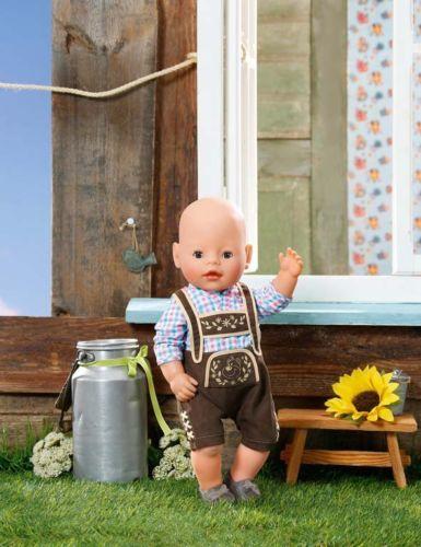 zapf baby born trachten outfit junge kleidung. Black Bedroom Furniture Sets. Home Design Ideas