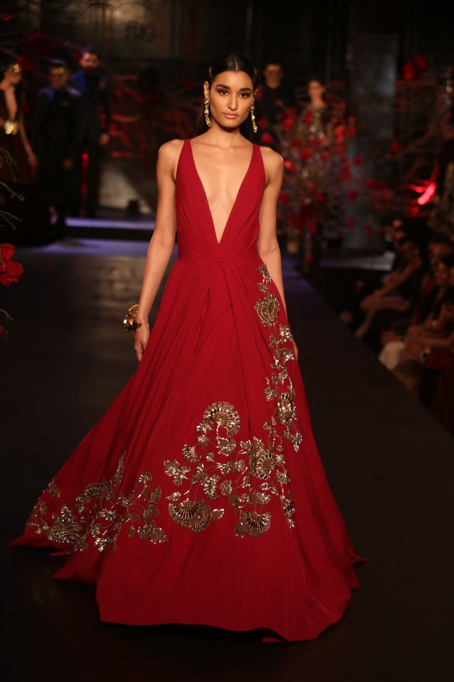 Indo western wedding dress for women  MANISH MALHOTRA AICW  GLAMOROUS  Pinterest  Manish