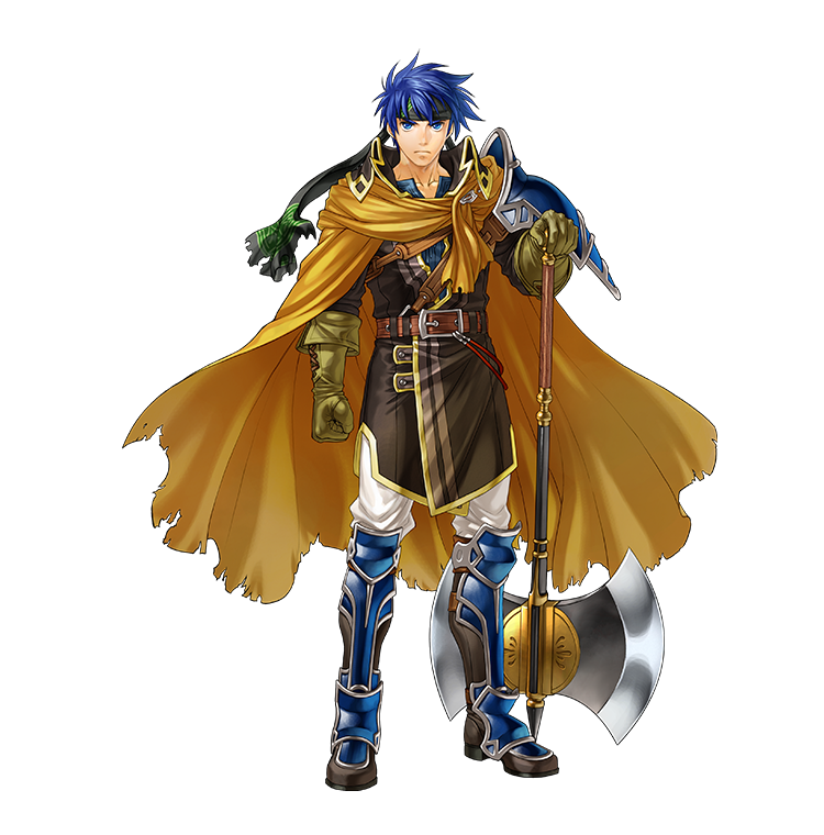 ike A kindhearted but stoic young man who has taken