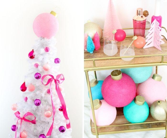 Rosa Weihnachtsdeko.1001 Ideen Und Anleitungen Zum Thema Basteln Zu Weihnachten