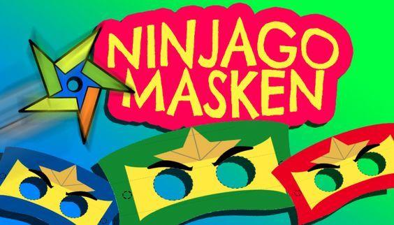 ninja  einfach und schnell selbst gemacht  ninjago