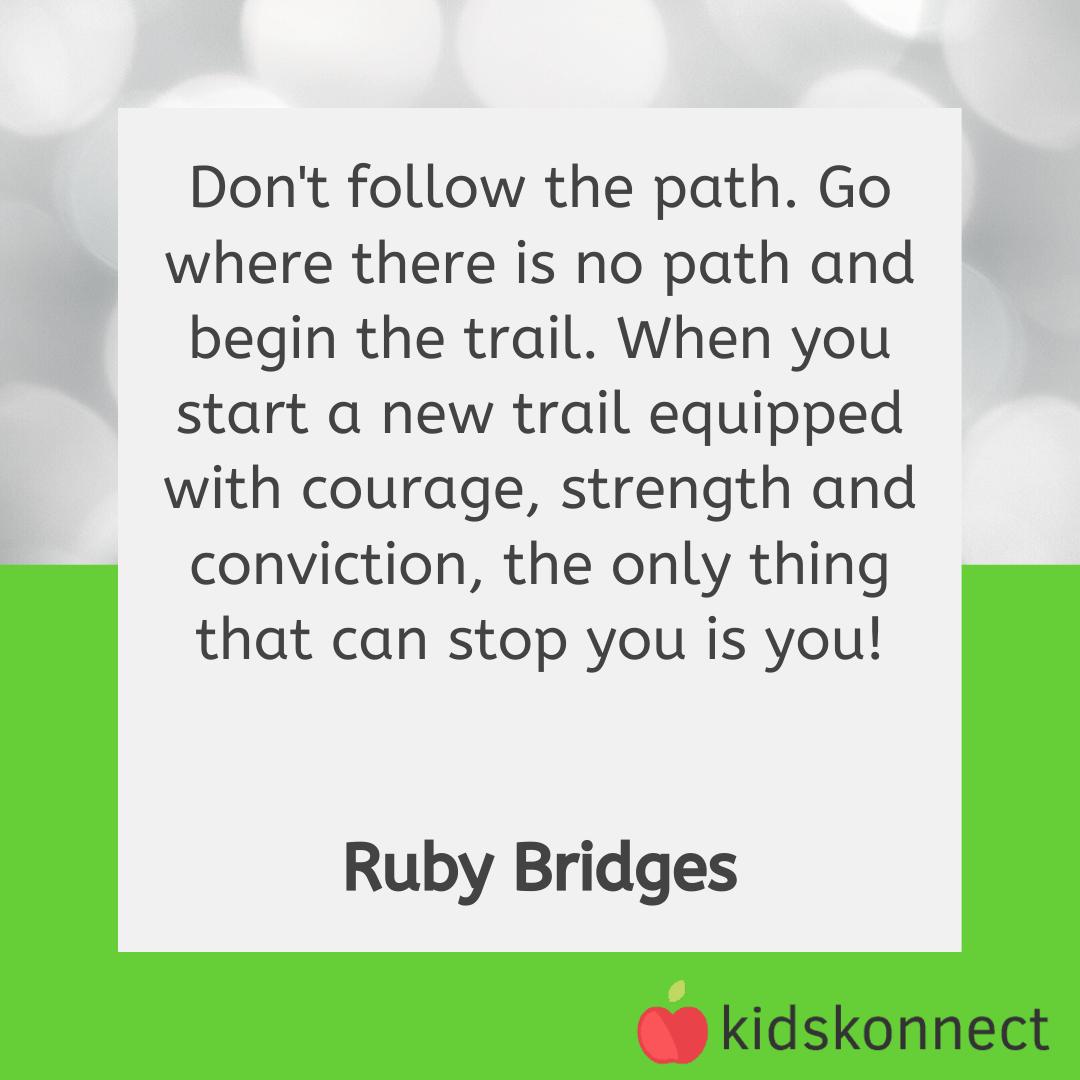 Ruby Bridges Quotes In