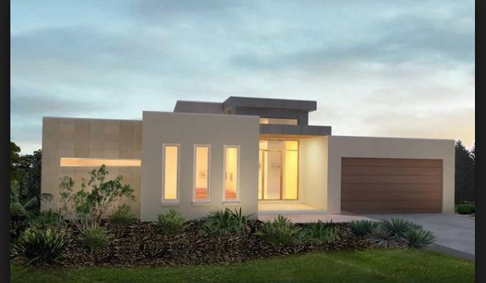 fachadas de casas minimalistas de un piso de - Casas Minimalistas