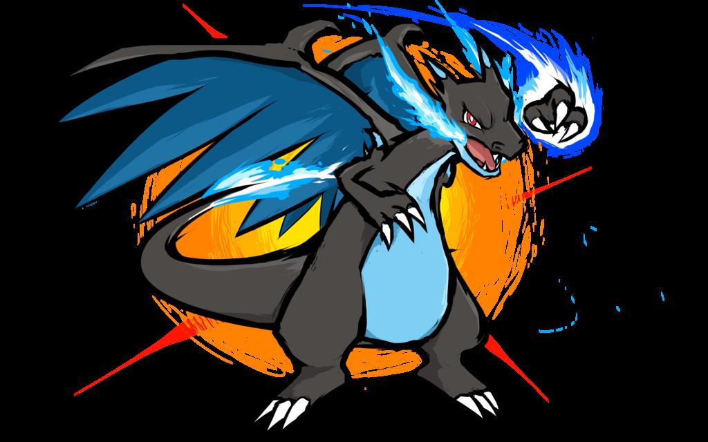 Mega Charizard X Fire Punch Charizard Art Fire Pokemon