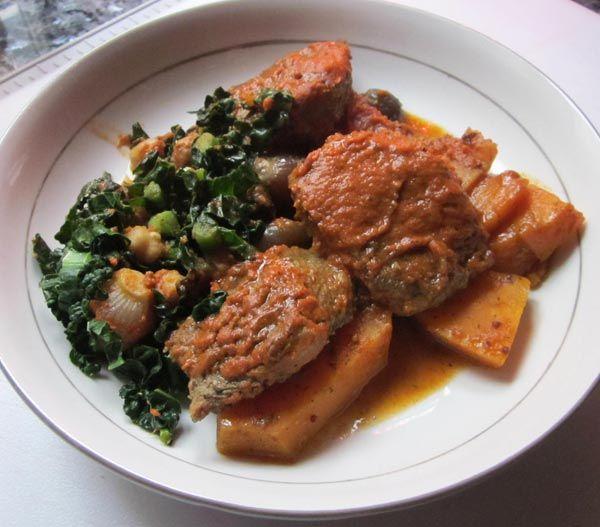 Curry Lamb.