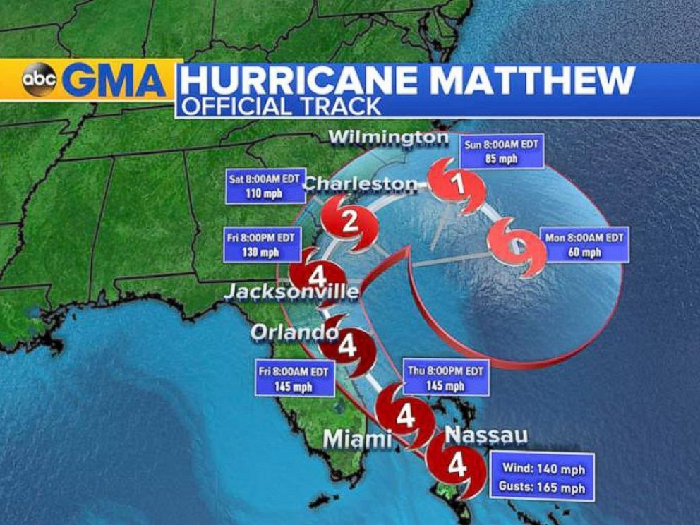 Matthew Downgraded To Post Tropical Cyclone Us Death Toll Rises To 19 National Hurricane Center Hurricane Matthew Hurricane