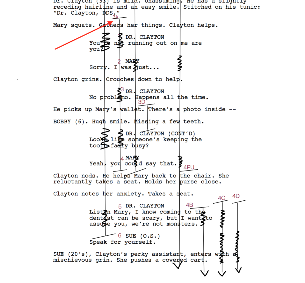 how to read a lined script the write way pinterest script