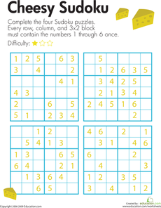 image relating to 6x6 Sudoku Printable referred to as Tacky Sudoku Selection Puzzles - Sudoku Sudoku puzzles