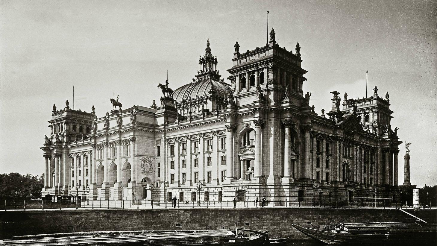 Reichstagsgebäude Geschichte