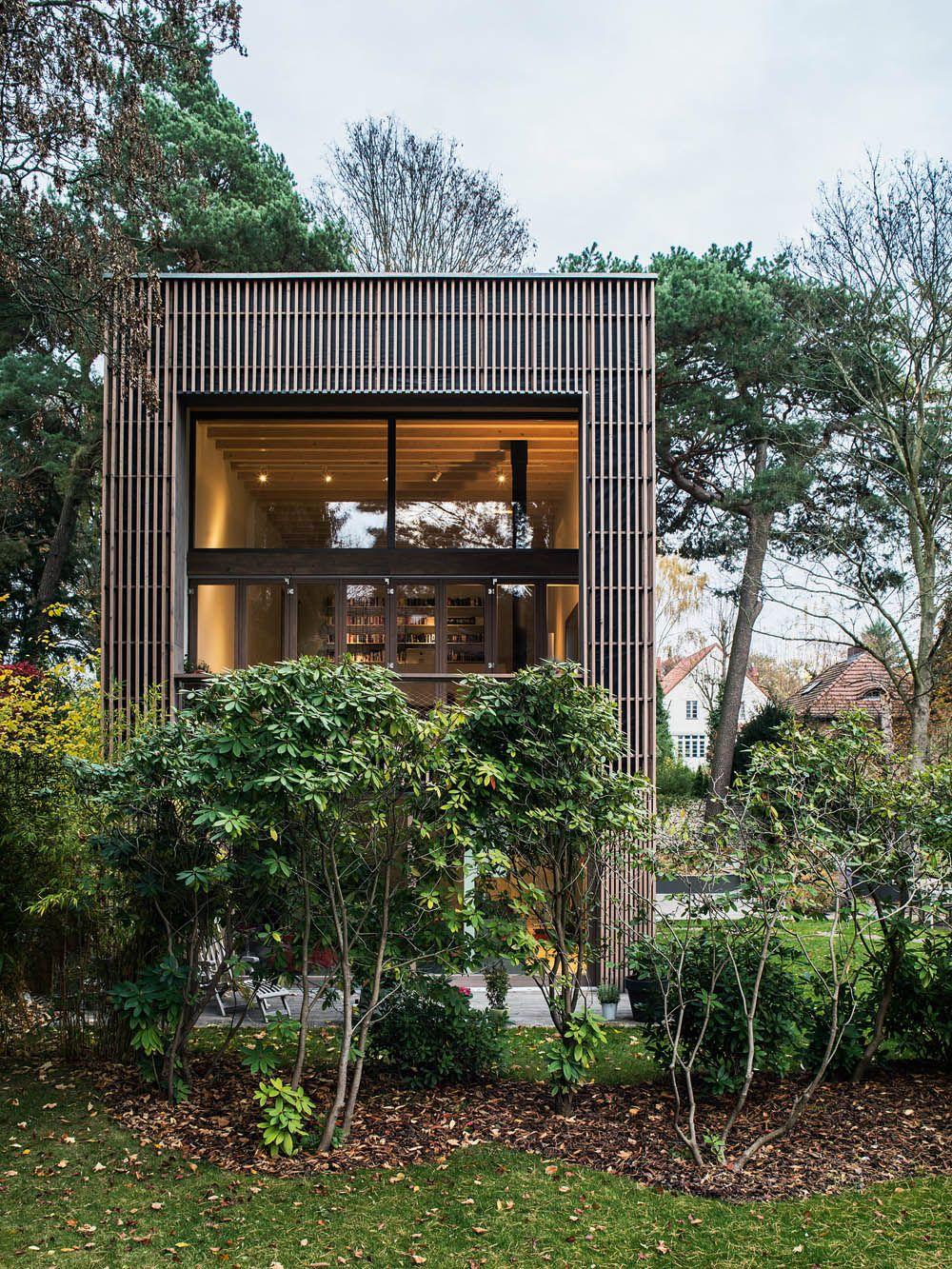 Gartenhaus | Gartenhäuser, Architekten und Familien