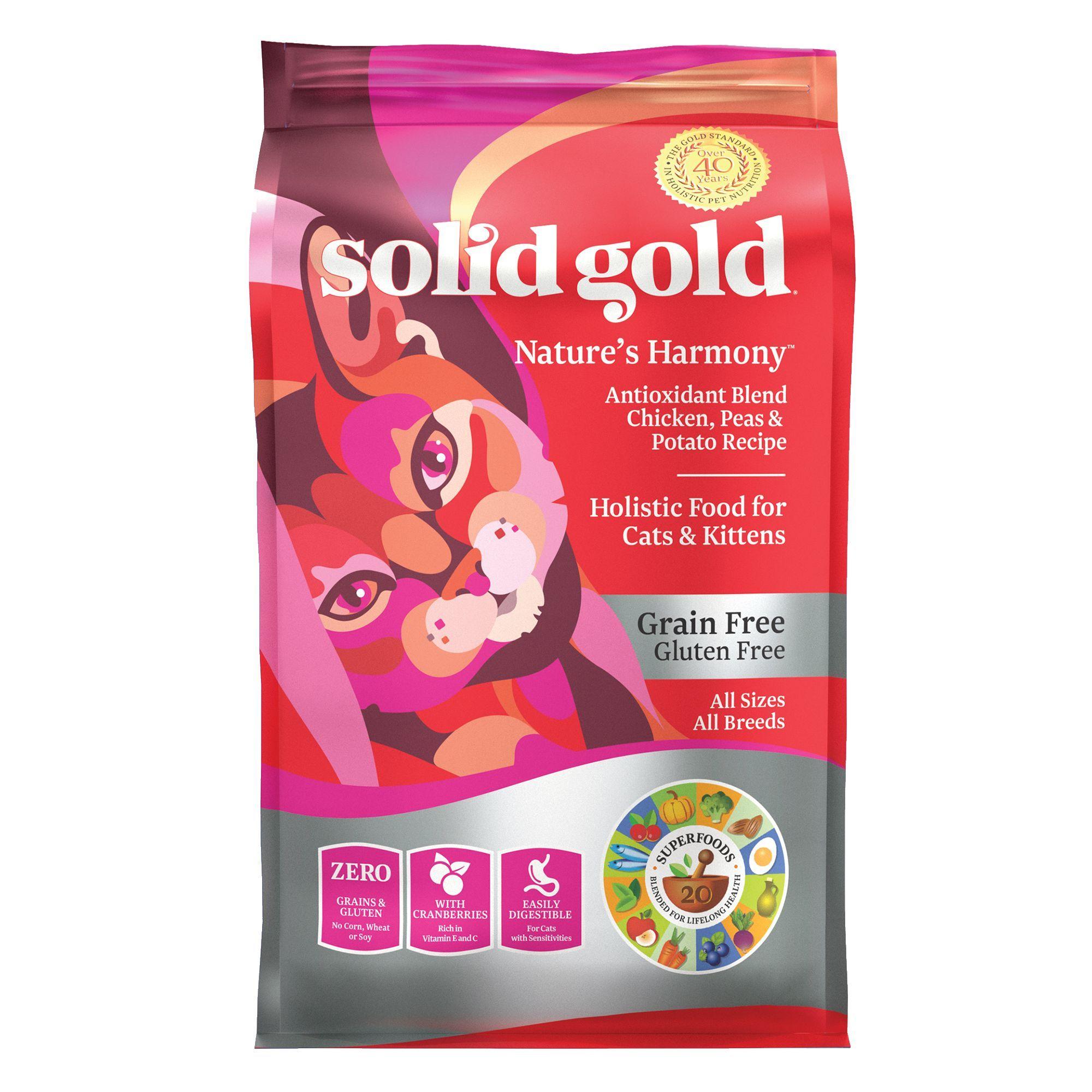 Solid Gold Nature S Harmoney Cat Food Grain Free Gulten Free