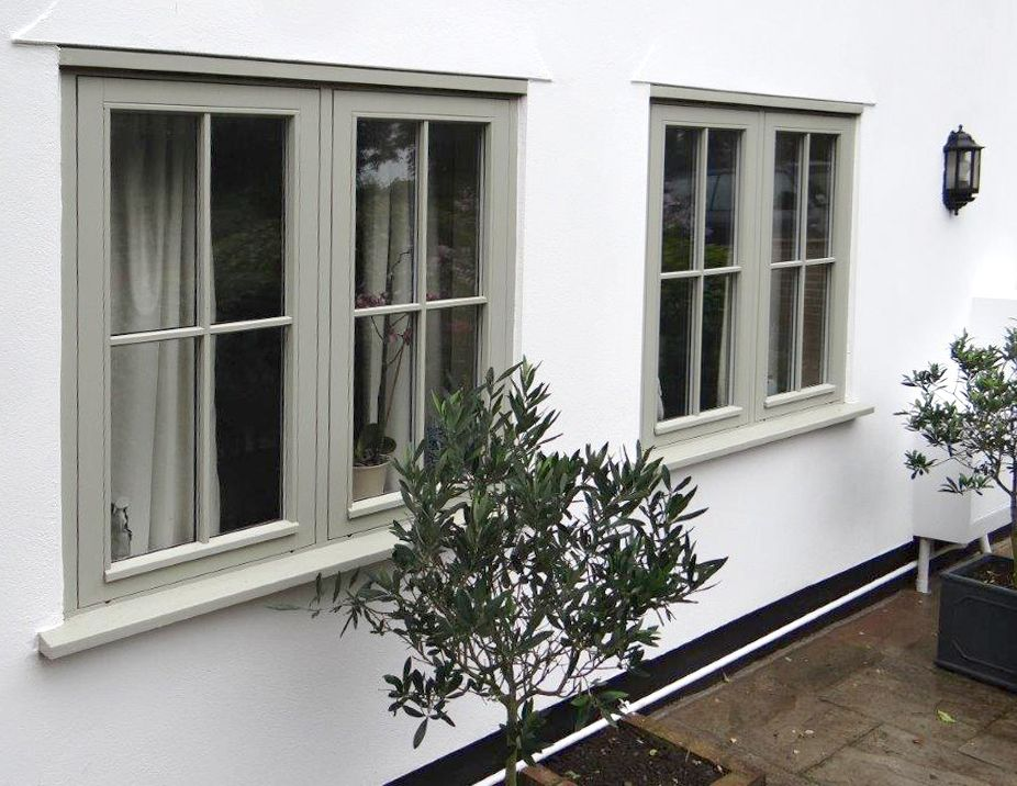 Heritage green casement windows supplied by PDS offering high quality timber doors timber windows and & Heritage green casement windows supplied by PDS offering high ...
