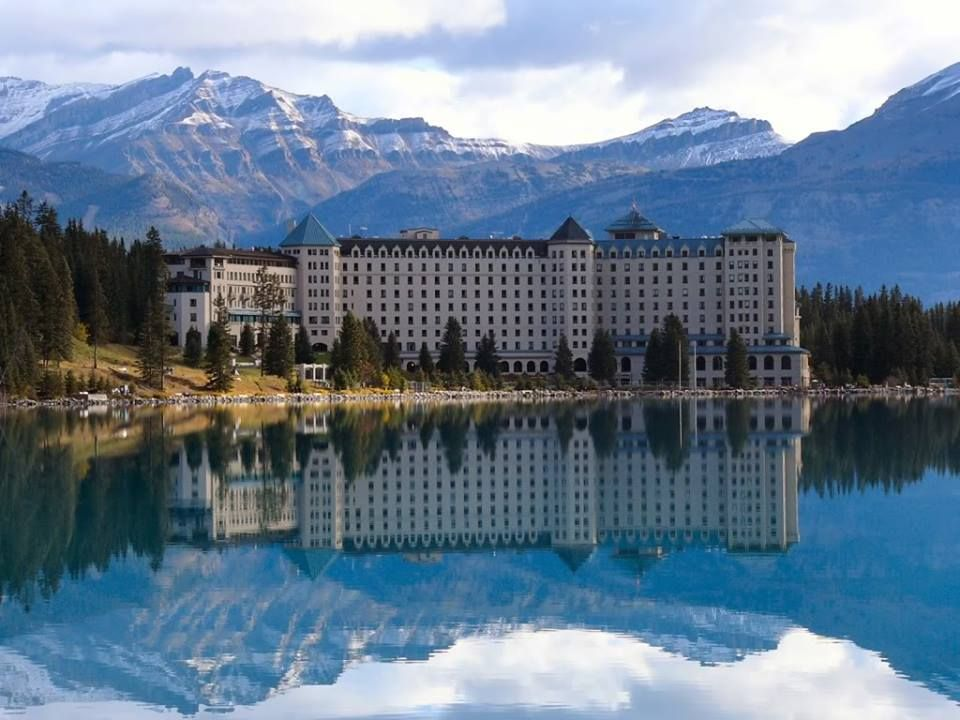 The Fairmont Chateau Hotel Lac Louise Alberta Canada Someday