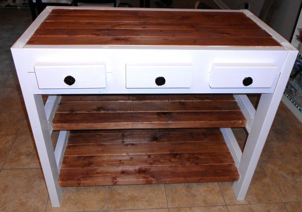 Make This Kitchen Island For Just 30 Homedeco