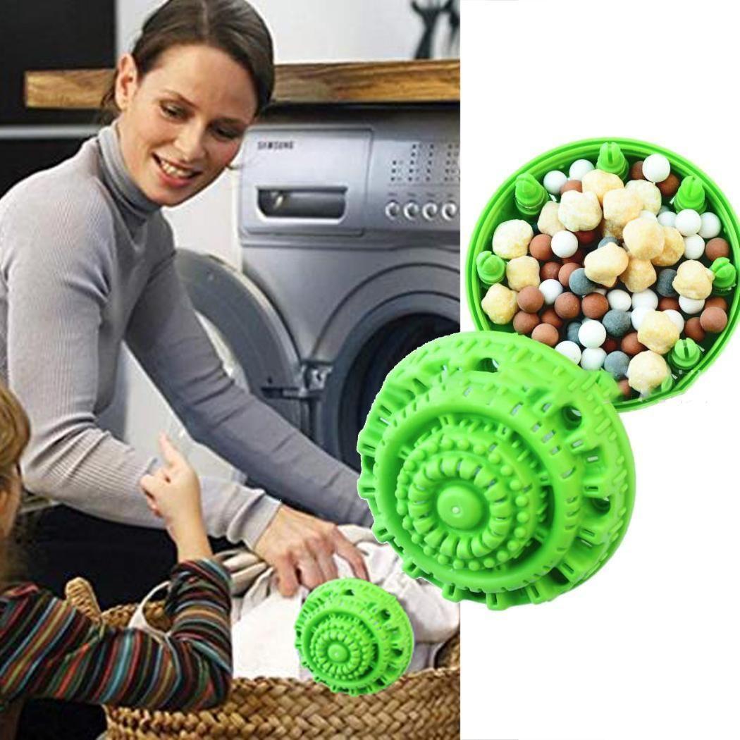 Eco Friendly Ceramic Reusable Laundry Ball Green Laundry Ball