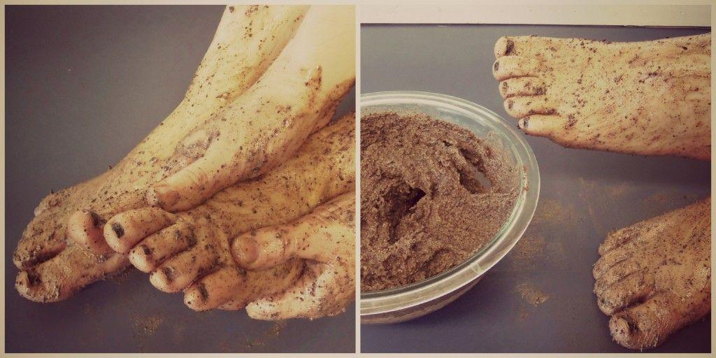 Foot mask exfoliating foot scrub foot care diy foot scrub