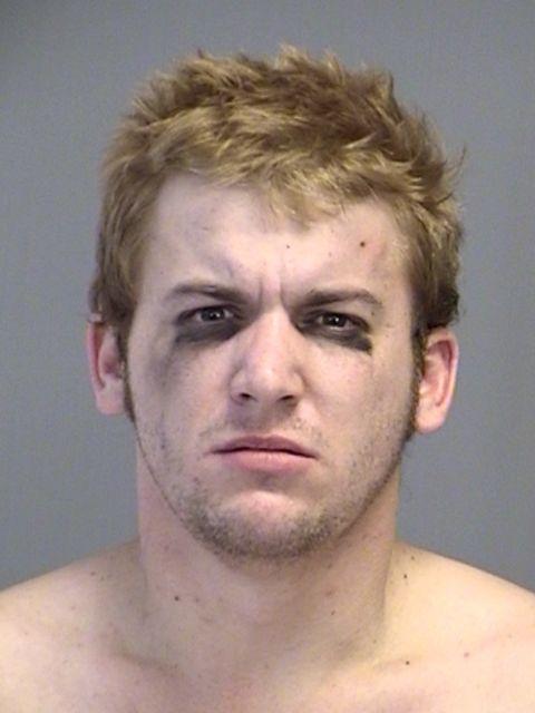 Austin Ray Cobb: Naked, Eye-Shadowed Bryan Man Busted for Trashing