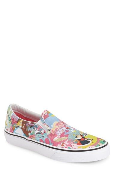 270c39565d Vans  Classic - Disney® Alice in Wonderland  Slip-On Sneaker (Women)  available at  Nordstrom