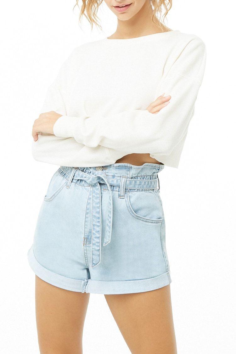 Shorts De Mezclilla Mujer Pantalones Shorts Shorts 2000312614 Forever 21 Eu Espanol Short De Mezclilla Mujer Forever 21 Moda