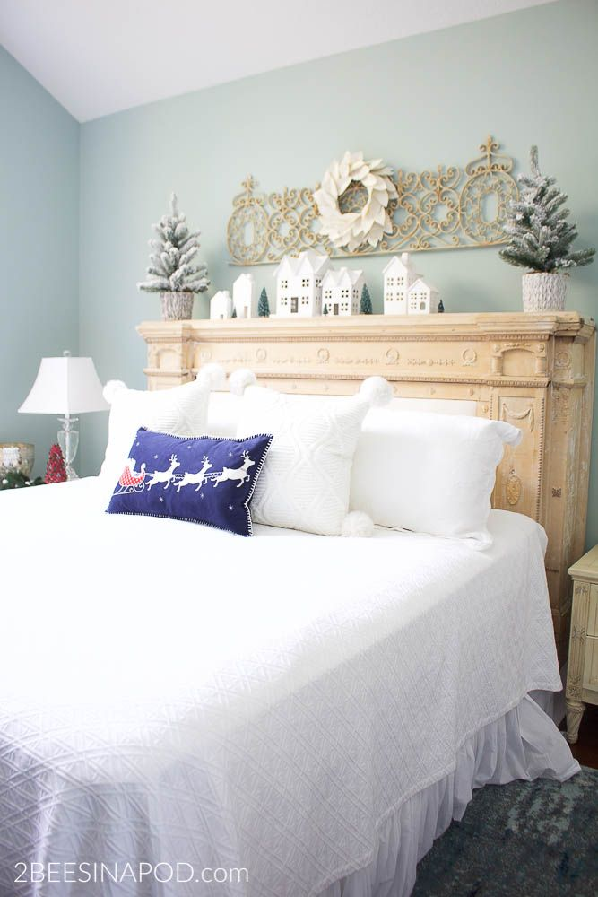 All is Calm Christmas Bedroom Christmas bedroom, Bedrooms and