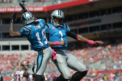Carolina is undefeated, but Seattle still comes into Sunday's game as the favorite. The Carolina Panthers are 4-0, though their four wins have come over teams with a combined five wins themselves. The Panthers expect to get wide receiver Jerricho Cotchery back from his ankle injury in Sunday's game.