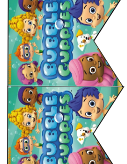 graphic regarding Bubble Guppies Printable identify Free of charge Bubble Guppies Birthday Social gathering Printables Little ones Get-togethers