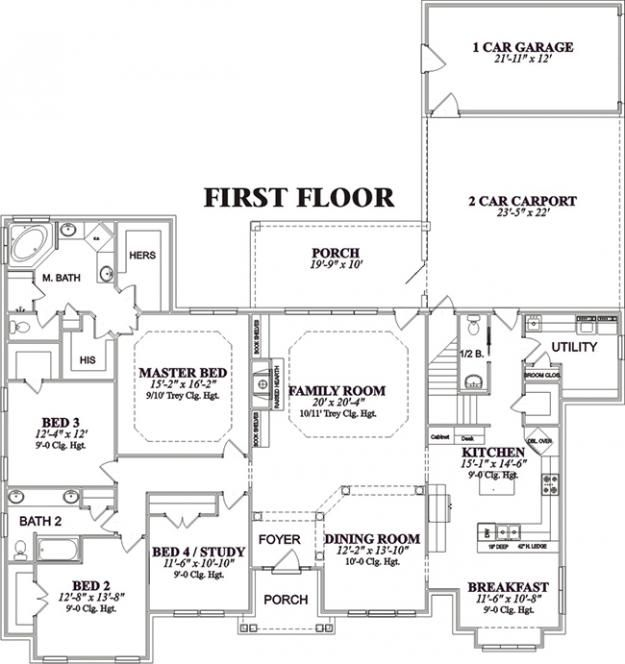 House Plan Square Feet House Plans House Floor Plans Best House Plans