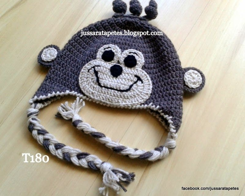 Jussara tapetes: Touca macaco - T180
