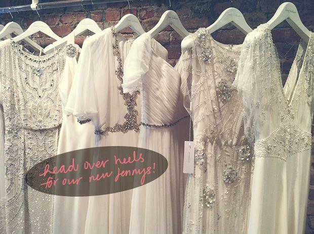 Jenny Packham Spring 2014 {NYC Bridal Market Recap}