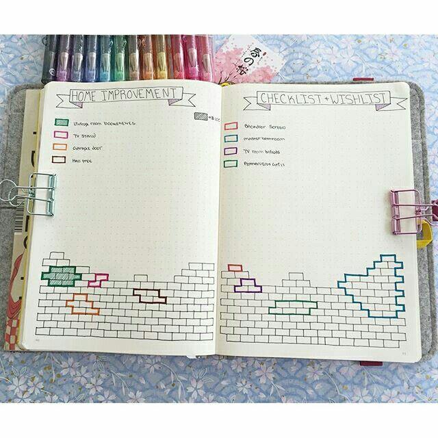 9d873c2a80a606a059b6e018b19a41ddg 640640 polka planner bullet journal home improvement wishlist malvernweather Choice Image