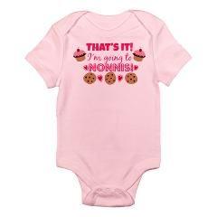 7272dc589ba I m going to Nonni s! Baby Girl Onesie Bodysuit  16.99  nonni  nonnis   granddaughter