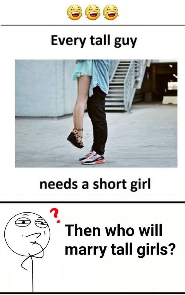 Big Guy Small Girl Meme : small, Guys,, Short, Girls