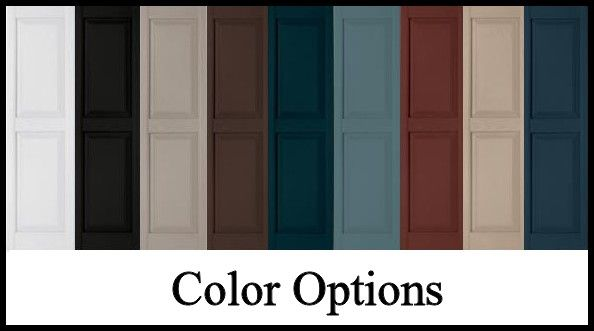 Exterior Shutters Buying Guide Functional Decorative Shutter Colors Vinyl Shutters House Shutter Colors