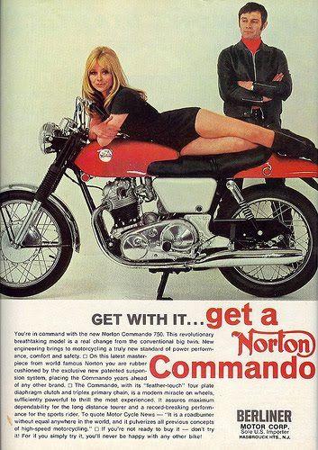 Stranded Kosmonaut Vintage Norton Motorcycles Ads Norton Commando Norton Motorcycle Vintage Motorcycle Posters