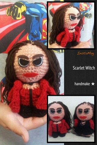 Scarlet Witch action figure #handmake #handmade #actionfigure #crochet #scarletwitch #marvellegends #actionfigure #avengers #instacrochet #gift #MarvelComics #AgeOfUltron #marvel #marveluniverse #etsy #etsyfind #ручнаяработа #игрушка #подарок #сувенир #алаяведьма #ЭраАльтрона #Марвел #мстители #коллекционнаяфигурка