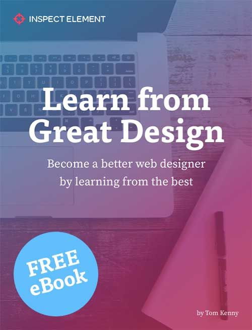 Free Pdf Ebook Learn From Great Design Free Web Design Web Design Web Design Tips