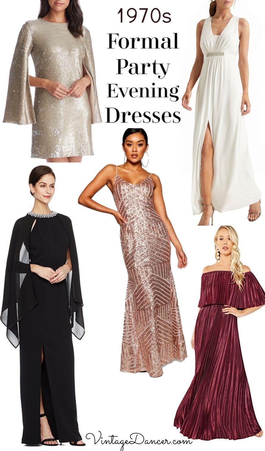 70s Formal Party Dresses 70s Fashion Dresses 70s Fashion 70s Women Fashion [ 1513 x 889 Pixel ]