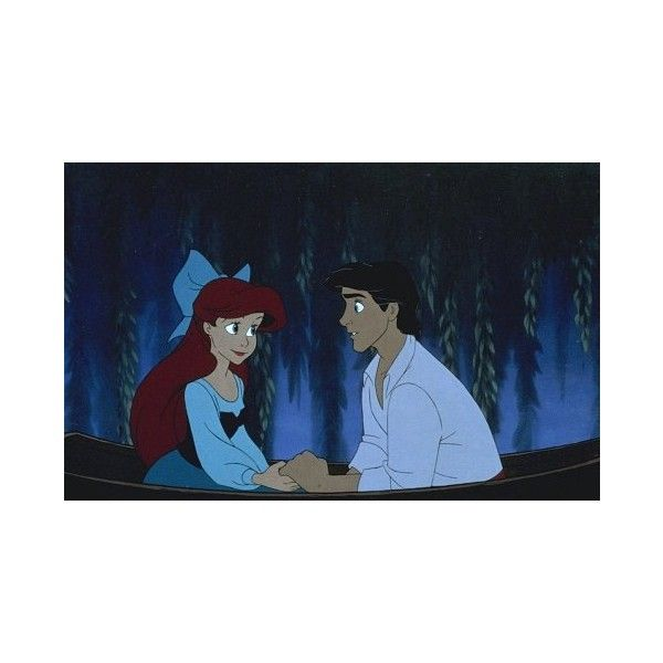 Ariel and Eric Ariel and Eric ❤ liked on Polyvore featuring disney, the little mermaid, backgrounds, pictures and ariel