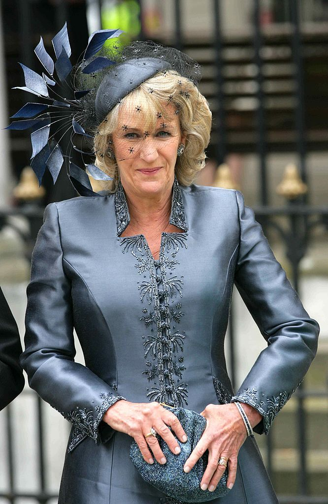 Camilla'S Sister Annabel Elliott Attends The Wedding Of