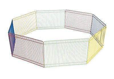 Small Pet Animal Playpen Portable Fence Guinea Pig Exercise Indoor Outdoor  NEW