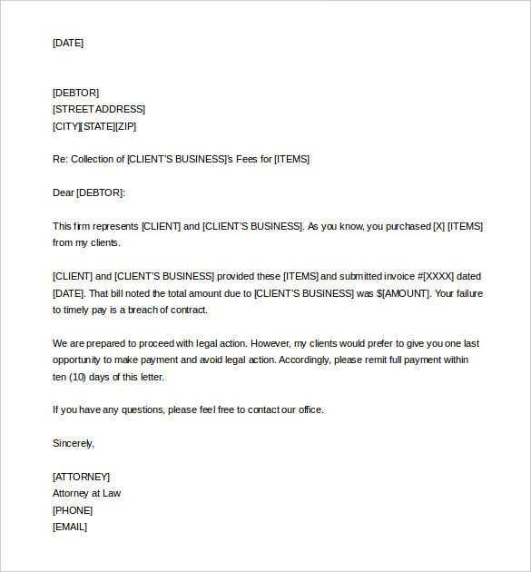 40 Demand Letter For Money Owed With Images Lettering