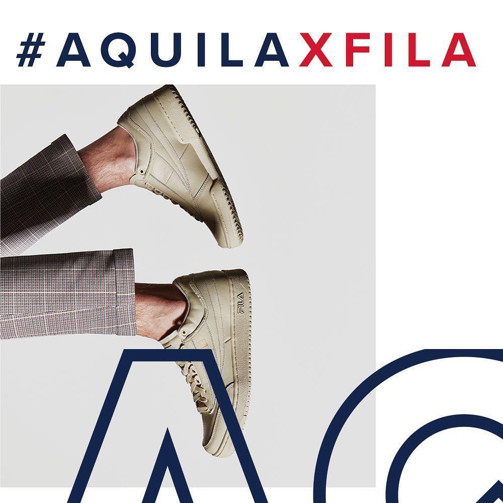 Aquila x FILA Sneakers: FILA 2019Squats Sneakers: FILA 2019 Espadrilles