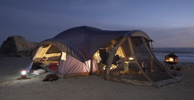 Great set-up for one of my favorite things to do, tent camp!!