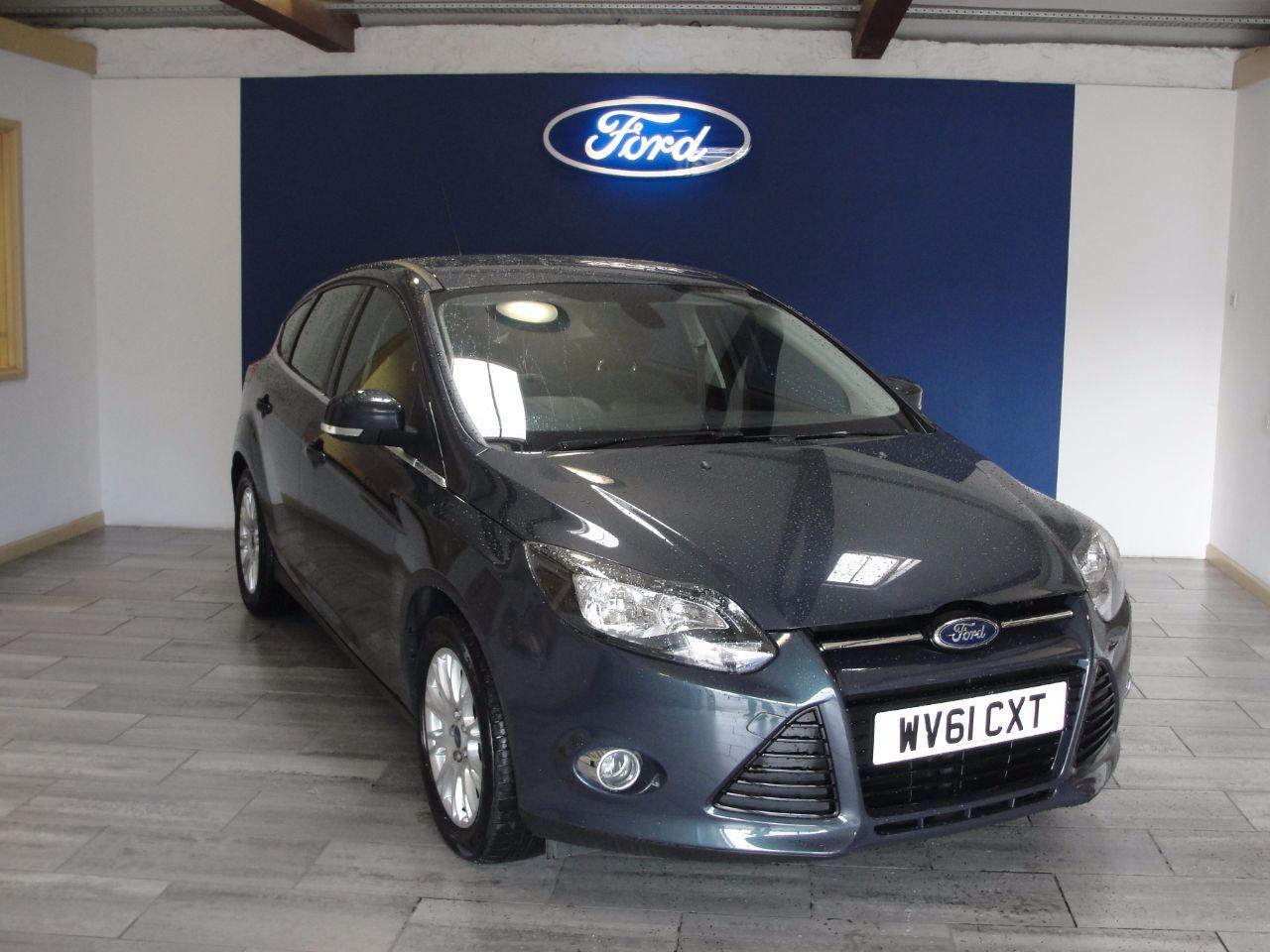 Now Sold Ford Focus 1 6 125 Titanium 5dr Hatchback Petrol Grey